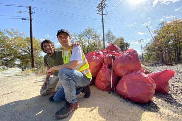 Umweltschutz: Ein Mann beschloss, sein Leben der Müllsammlung zu widmen