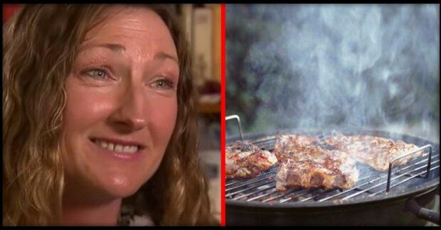 In Amerika will Frau ihre Nachbarn wegen des Geruchs vom Fleisch verklagen