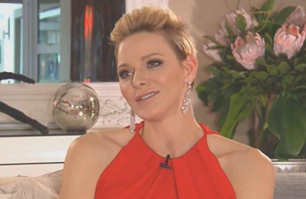 Fürstin Charlene von Monaco. Quelle: YouTube Screenshot