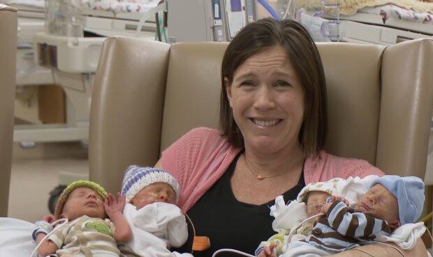 Kinderreiche Mutter. Quelle: YouTube Screenshot