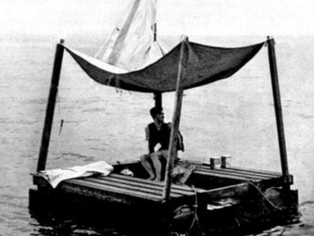 Die Geschichte eines Mannes, der 133 Tage auf einem Floß im Meer ohne Nahrung und Wasser überlebt hat