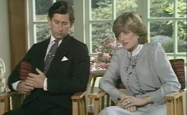 Prinz Charles und Prinzessin Diana. Quelle: YouTube Screenshot