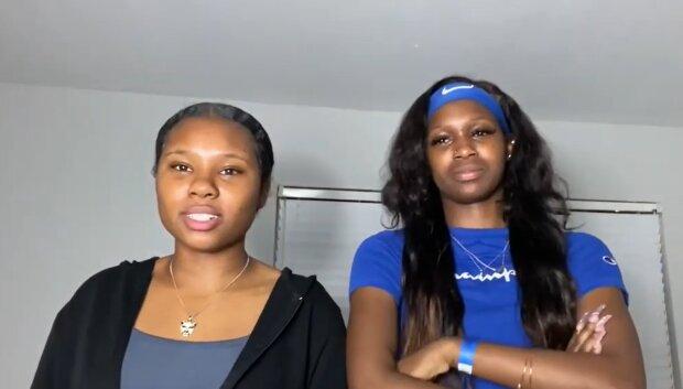 Azarria und Simmons. Quelle: YouTube Screenshot