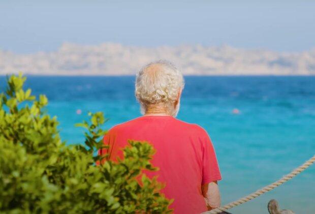 Man lebte 32 Jahre allein auf der Insel. Quelle: Screenshot Youtube