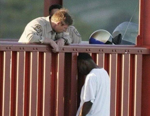 Preis des Lebens: Wie ein Polizist einen verzweifelten Mann rettete