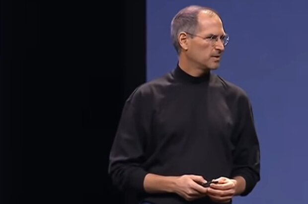 Steve Jobs. Quelle: YouTube Screenshot