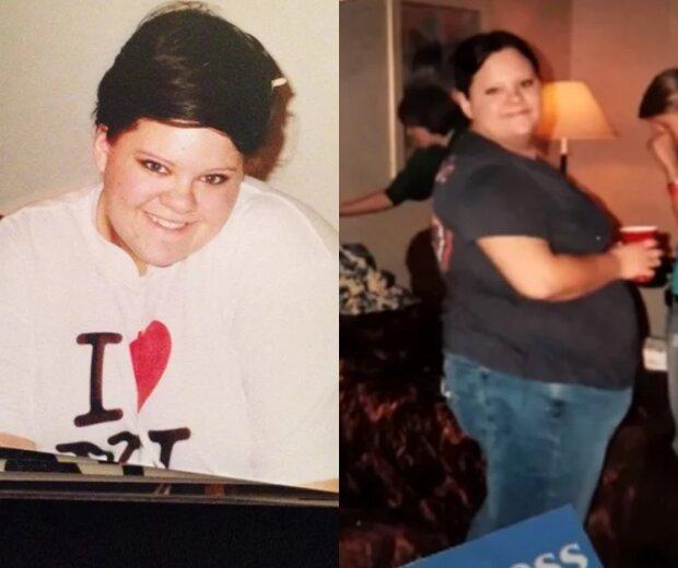 Wie ein Frau, die 130 kg wog, die Hälfte ihres Gewichts verlor und zu den Stylisten kam