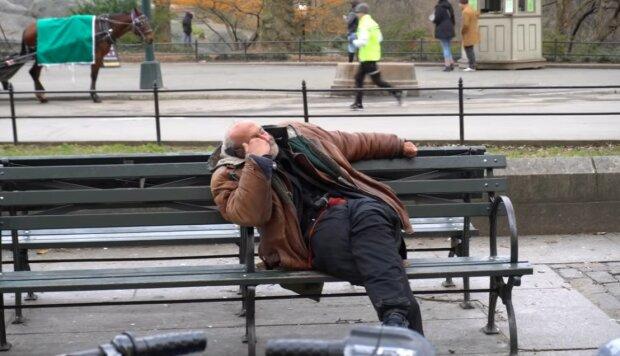 Rekordstadt für die Zahl der Obdachlosen. Quelle: Screenshot YouTube