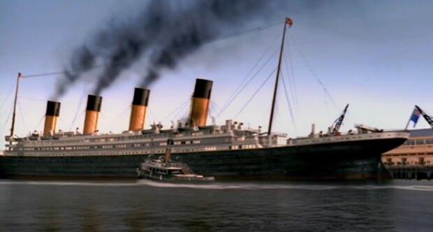 Titanic. Quelle: YouTube Screenshot