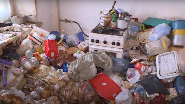 Der Müll. Quelle: Screenshot YouTube