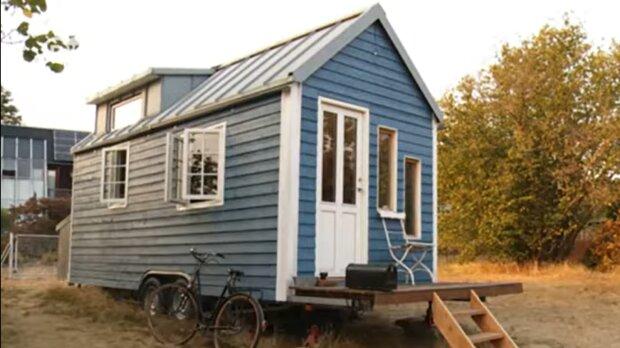 Ein kleines Haus. Quelle: YouTube Screenshot