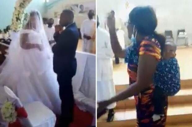 Wie eine Frau zur Hochzeit ihres Ehemannes mit einer anderen Frau zufällig kam