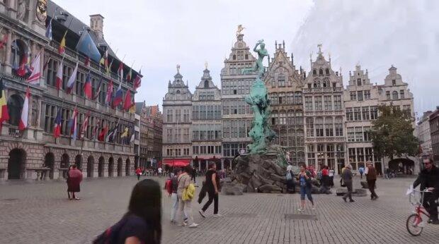 Belgien. Quelle: Screenshor YouTube