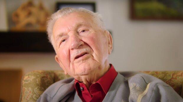 Ein alter Mann. Quelle: YouTube Screenshot