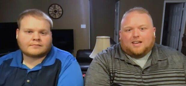 Der ältere Bruder unterstützte den jüngeren. Quelle: Youtube Screenshot