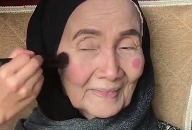 Make-Up wirkt Wunder. Quelle: Screenshot Youtube