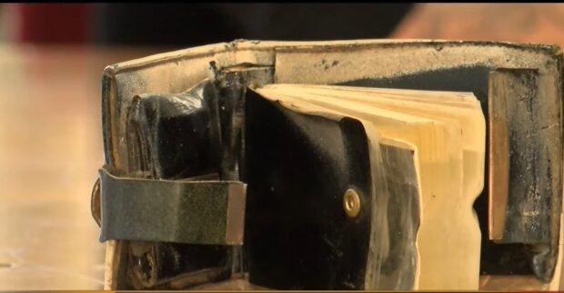 Alte Brieftasche. Quelle: YouTube Screenshot