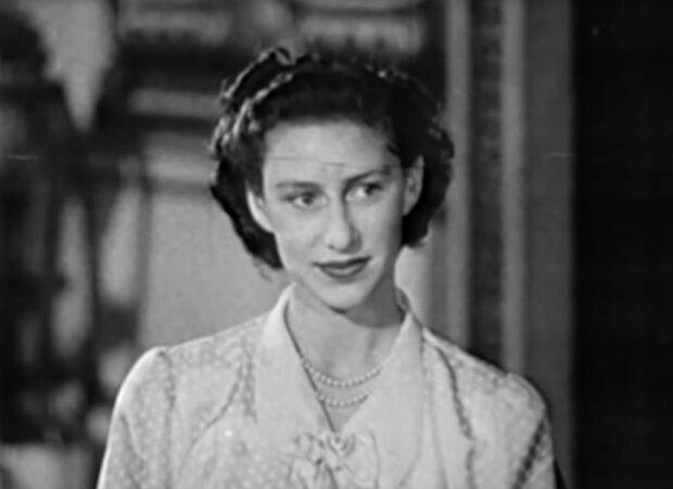Prinzessin Margaret. Quelle: Screenshot YouTube