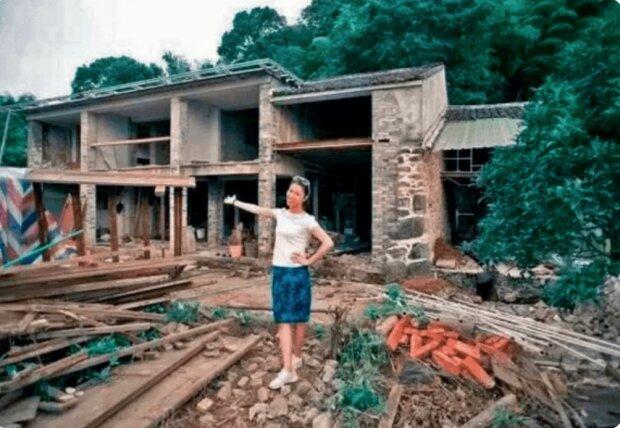 Eine Frau verwandelte ein verlassenes Haus in ein Luxushaus