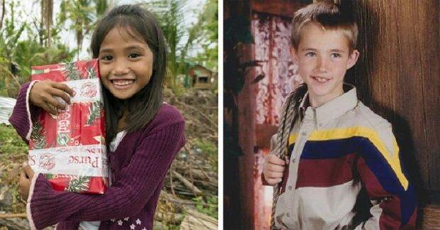 """Der 7-jährige Junge schickte ein Geschenk an """"arme Kinder Asiens"""" und erhielt nach 14 Jahren eine Antwort"""