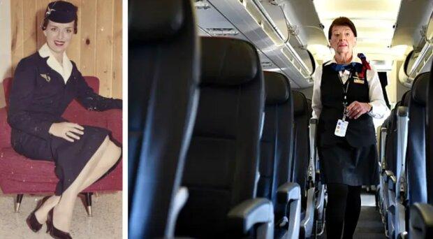 60 Jahre am Himmel: Wie die älteste Stewardess der Welt aussieht und wo sie arbeitet
