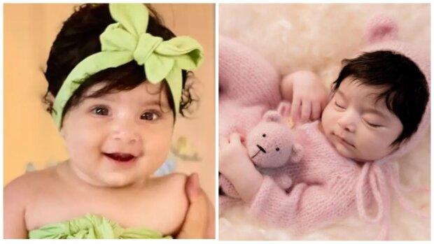 Ungewöhnliches neugeborenes Mädchen. Quelle:Screenshot