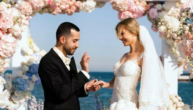 Edle Tat während einer Heirat