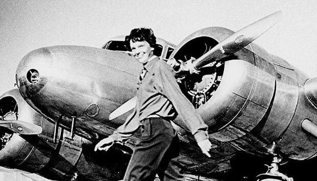 Amelia Earhart. Quelle: Screenshot Youtube
