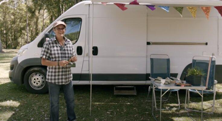 Claire und ihr kleines Zuhause. Quelle: Screenshot YouTube