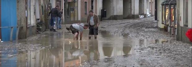 Überschwemmung. Quelle: Youtube Screenshot