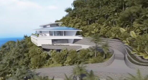 Eine Villa. Quelle: Screenshot YouTube