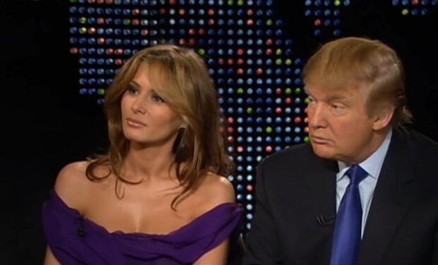 Melania und Donald Trump. Quelle: YouTube Screenshot