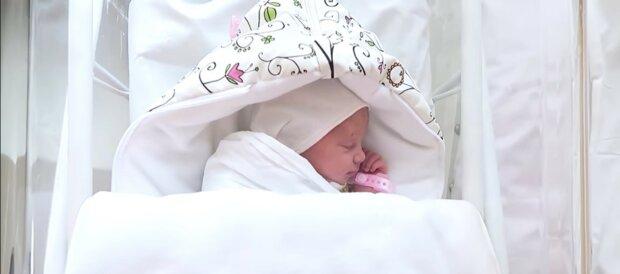 Ein Baby. Quelle: Youtube Screenshot