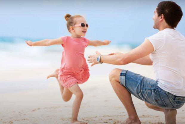 Vater und Tochter. Quelle: Screenshot YouTube