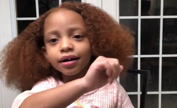 Mädchen mit roten Haaren. Quelle: YouTube Screenshot