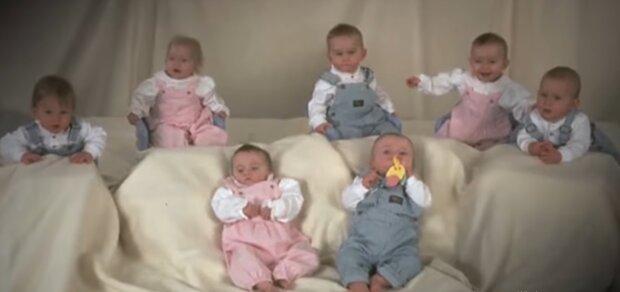 Keine Ähnlichkeit: Wie die ersten überlebenden 7 Zwillinge nach 23 Jahren aussehen