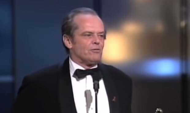 Jack Nicholson jetzt. Quelle: YouTube Screenshot