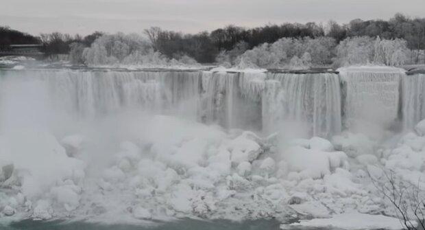 Echter Winter 1932: Wie die Niagarafälle froren