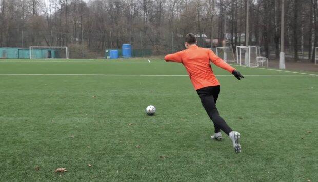 Fußball. Quelle: Screenshot YouTube