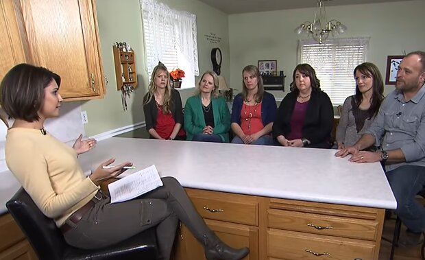 Murray's Vater und seine Ehefrauen. Quelle: YouTube Screenshot