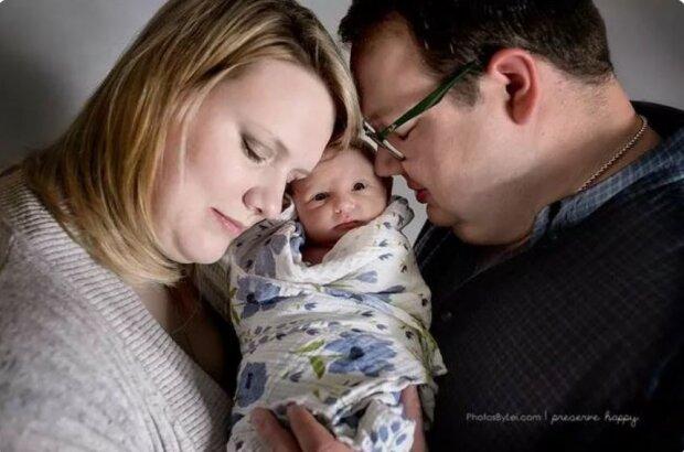 Man soll niemals aufgeben: Das Paar wurde nach vielen erfolglosen Versuchen zum ersten Mal Eltern