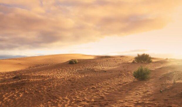 Wüste. Quelle: Screenshot Youtube