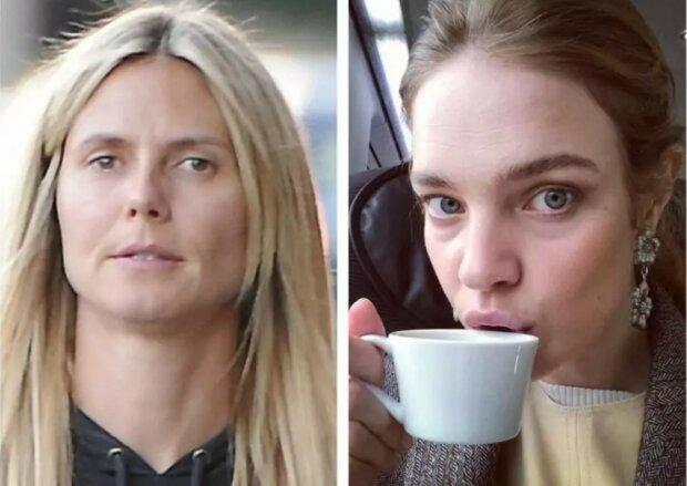 """""""Natürliche Schönheit"""": wie Supermodells ohne Make-up und Photoshop aussehen"""