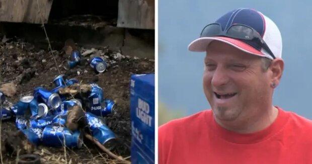 Wie ein kluger Mann ein Feuer löschte und sein Geschäft und sein Haus rettete