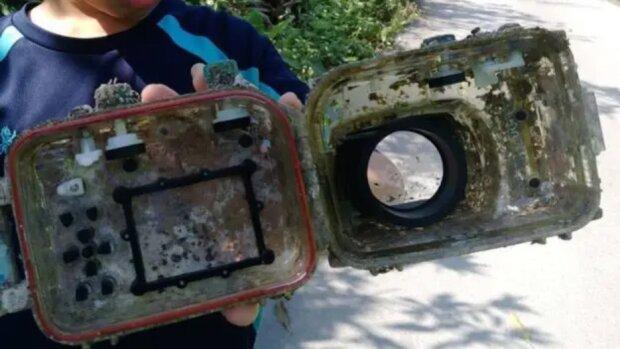 Eine Unterwasser-Odyssee einer verlorenen Kamera: Wie die Kamera nach drei Jahren zu ihrem Besitzer zurückkehrte