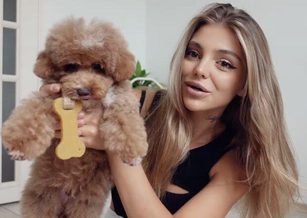 Hund und Frau. Quelle: Screenshot YouTube