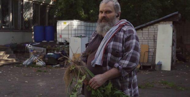 Der Obdachloser. Quelle: Screenshot YouTube