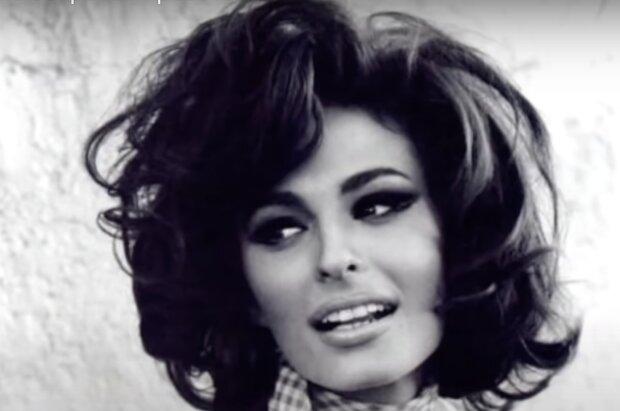Sophia Loren. Quelle: Screenshot YouTube