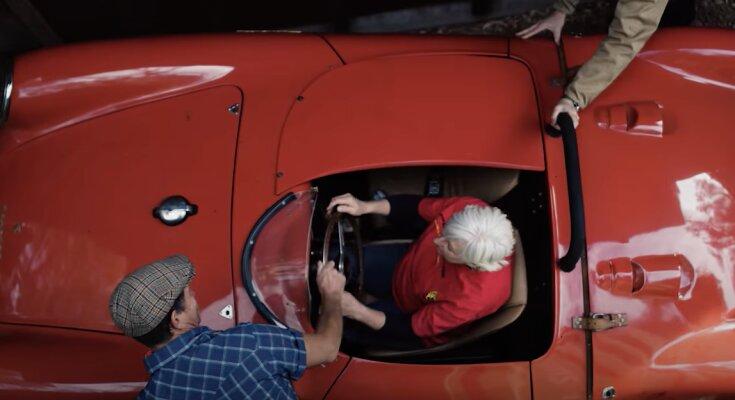 Altes Porsche. Quelle: Screenshot Youtube