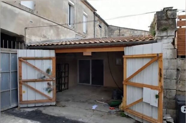 Garage. Quelle: Screenshot Youtube